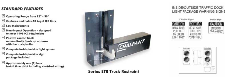 ETR Automatic Truck Restraint Quote